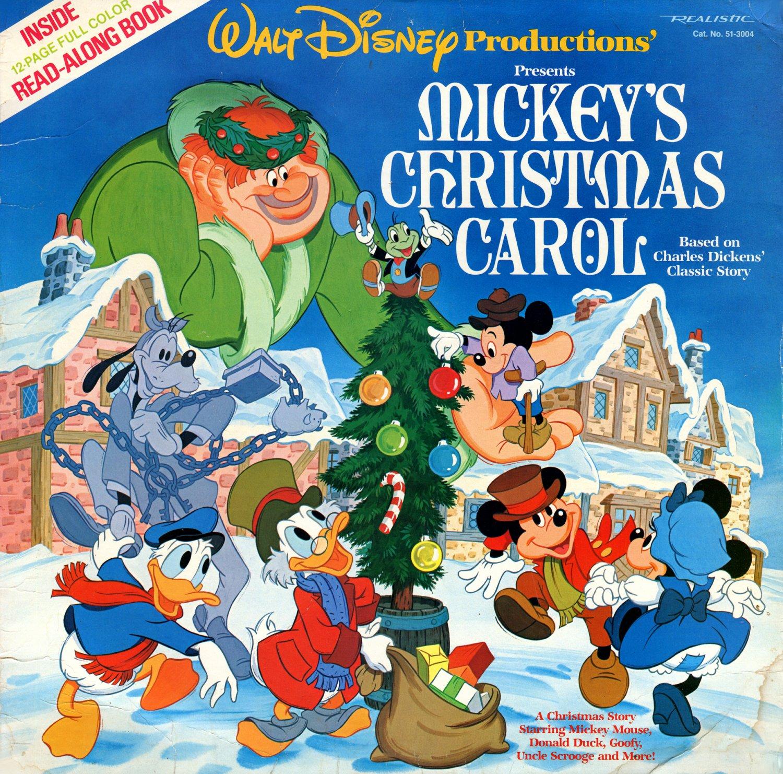 mickeys christmas carol original soundtrack walt disney christmas story lpcd - A Christmas Story Soundtrack