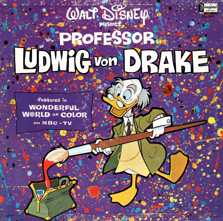 Walt Disney's Professor Ludwig Von Drake - Wonderful World Of Color Soundtrack LP/CD