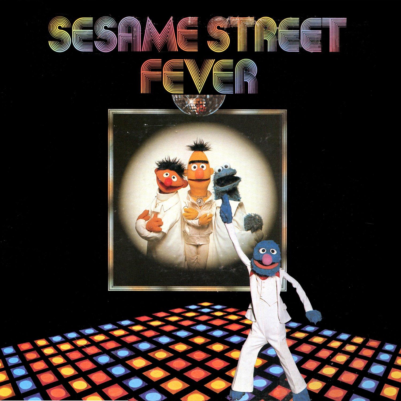 Sesame Street Fever - Original Soundtrack, Disco Music LP/CD