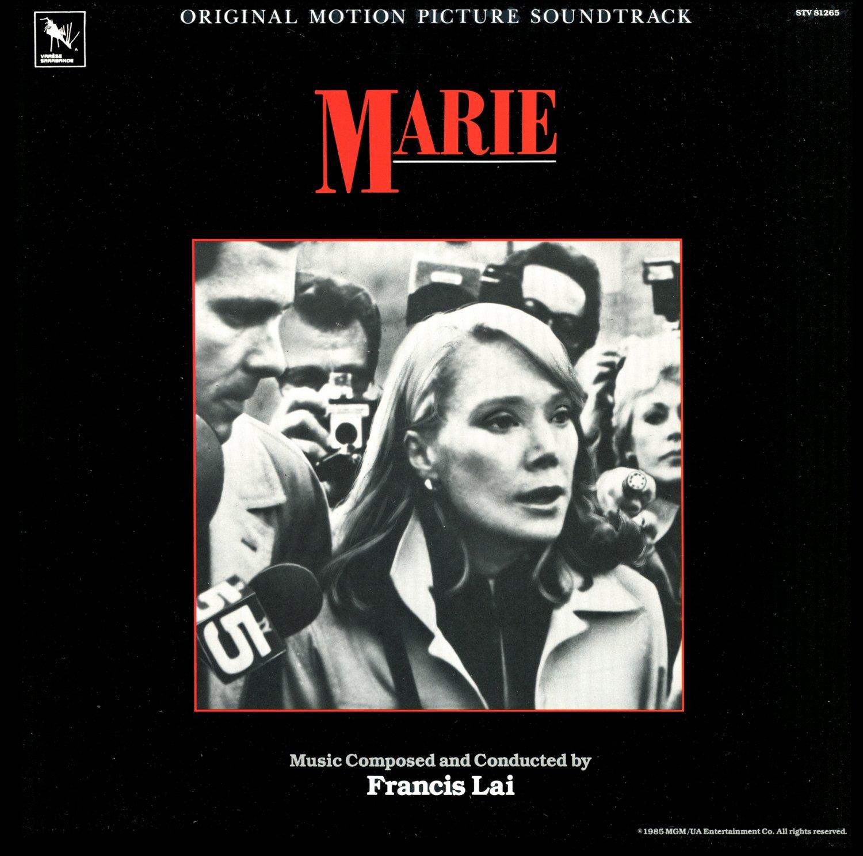 Marie - Original Soundtrack, Francis Lai OST LP/CD