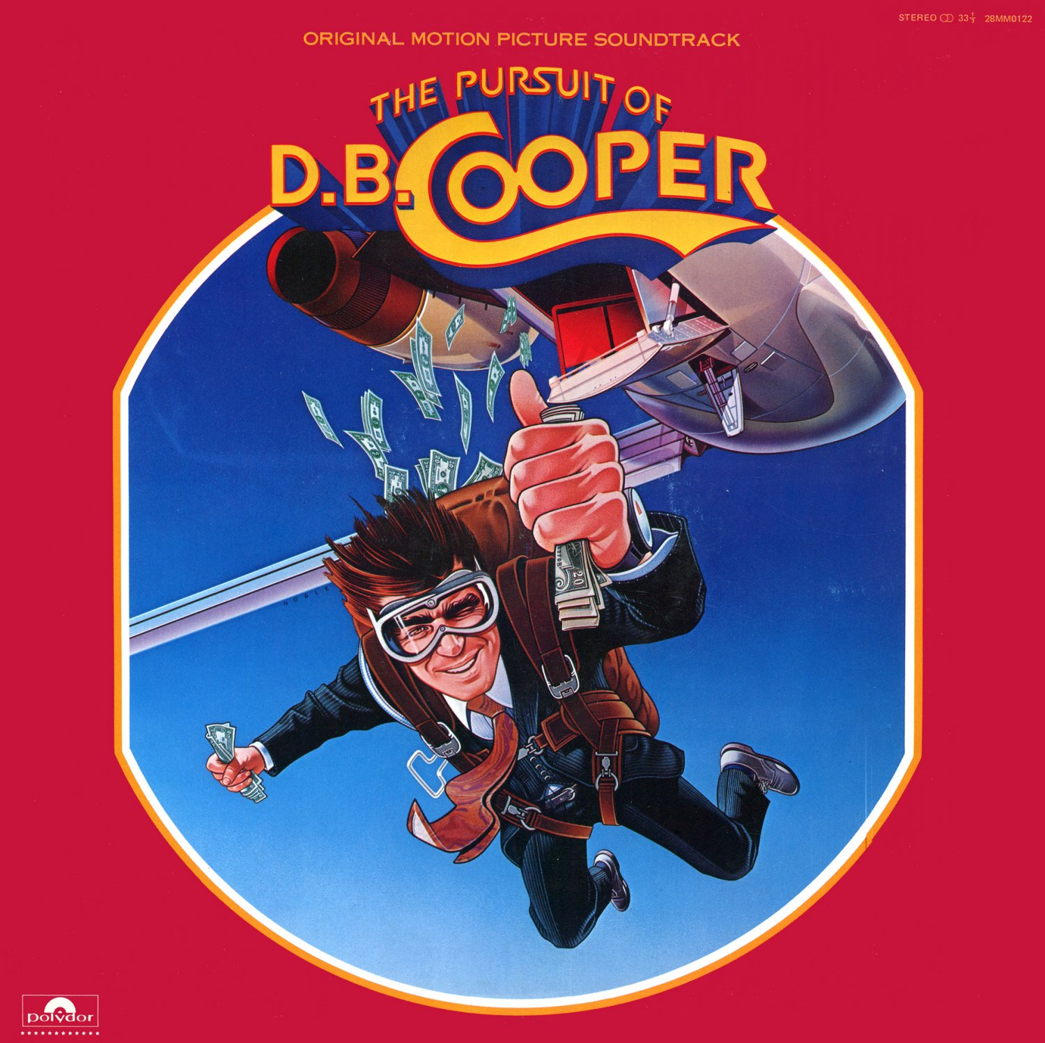 The Pursuit Of D.B. Cooper - Original Soundtrack, James Horner OST LP/CD DB