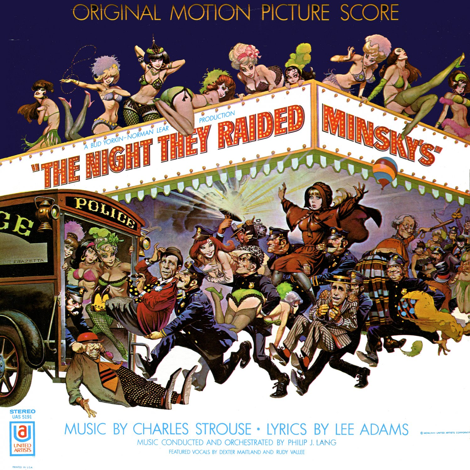 The Night They Raided Minsky's - Original Soundtrack, Charles Strouse OST LP/CD