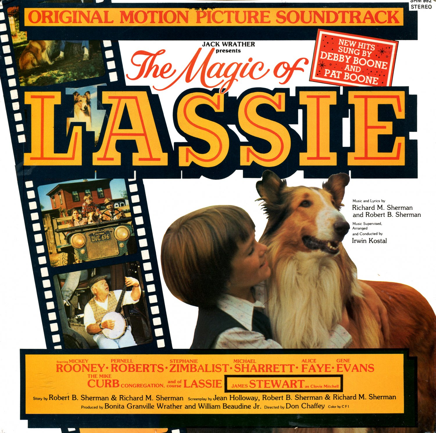 The Magic Of Lassie - Original Soundtrack, Sherman Brothers OST LP/CD