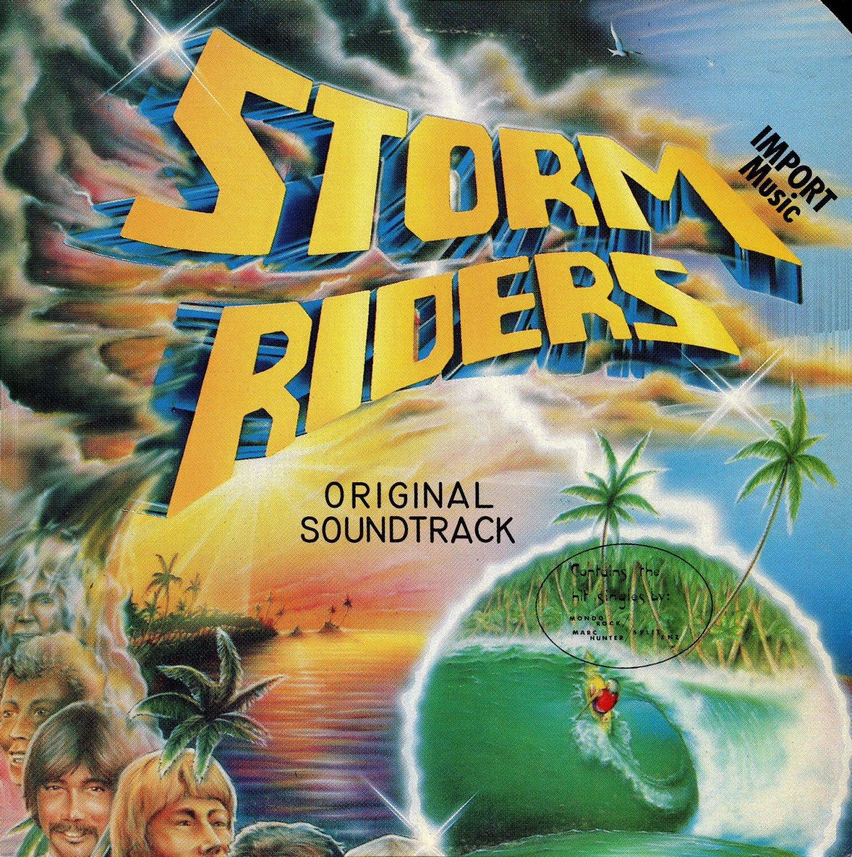 Storm Riders (1982) - Original Soundtrack, Split Enz OST LP/CD