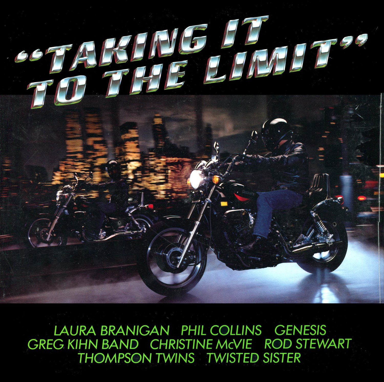 Taking It To The Limit (1985) - Original Soundtrack, Kawasaki Motorcycle Ad LP/CD