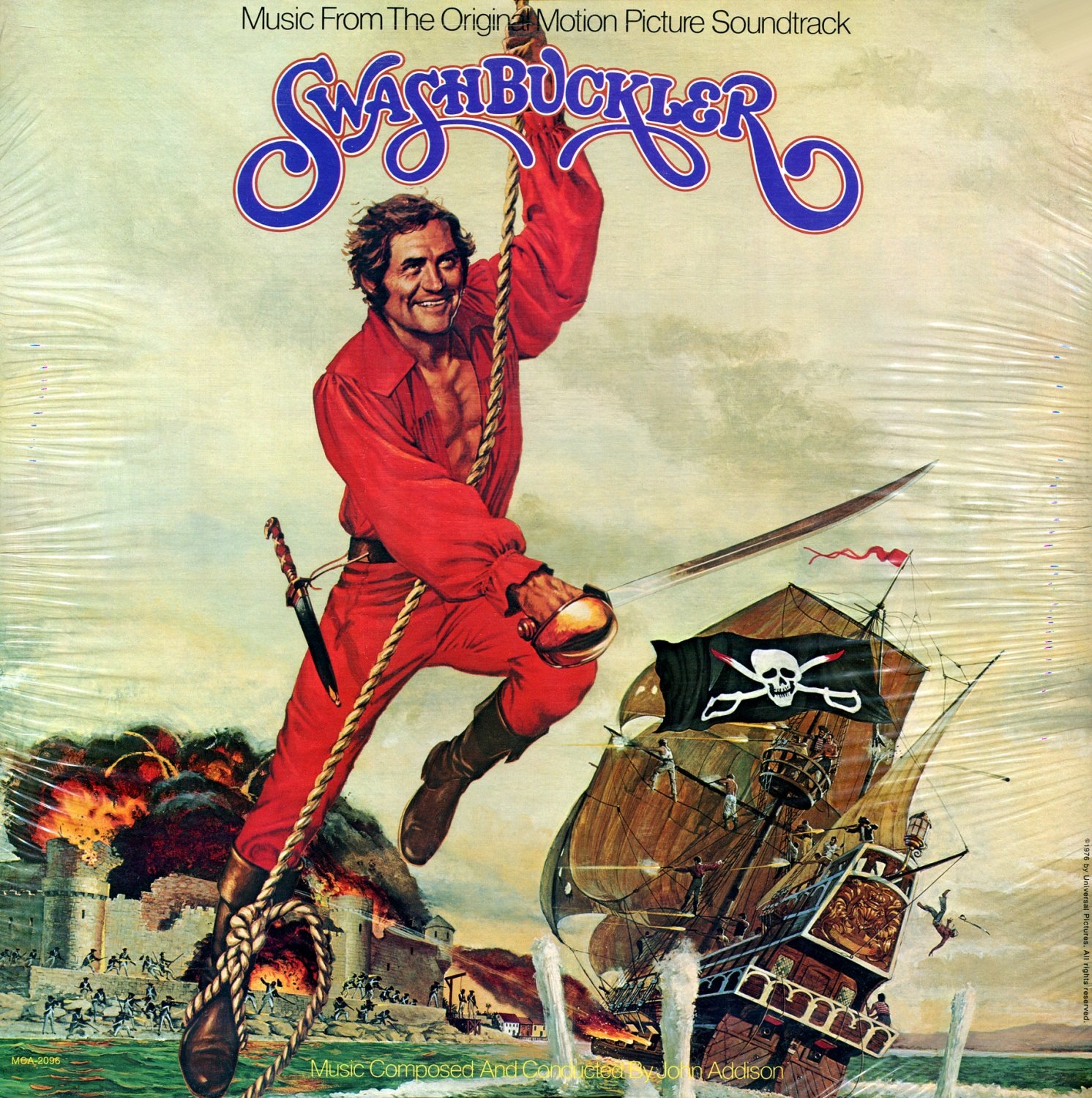 Swashbuckler - Original Soundtrack, John Addison OST LP/CD