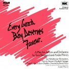 Every Good Boy Deserves Favour - Original London Cast Recording, Andre Previn Soundtrack OST LP/CD