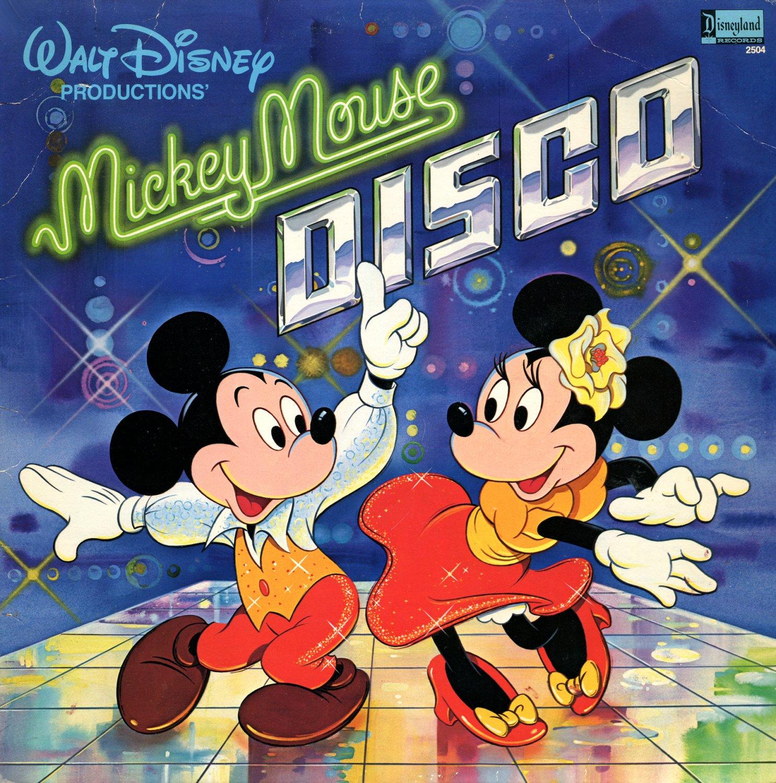 Mickey Mouse Disco (1979) - Walt Disney Soundtrack LP/CD