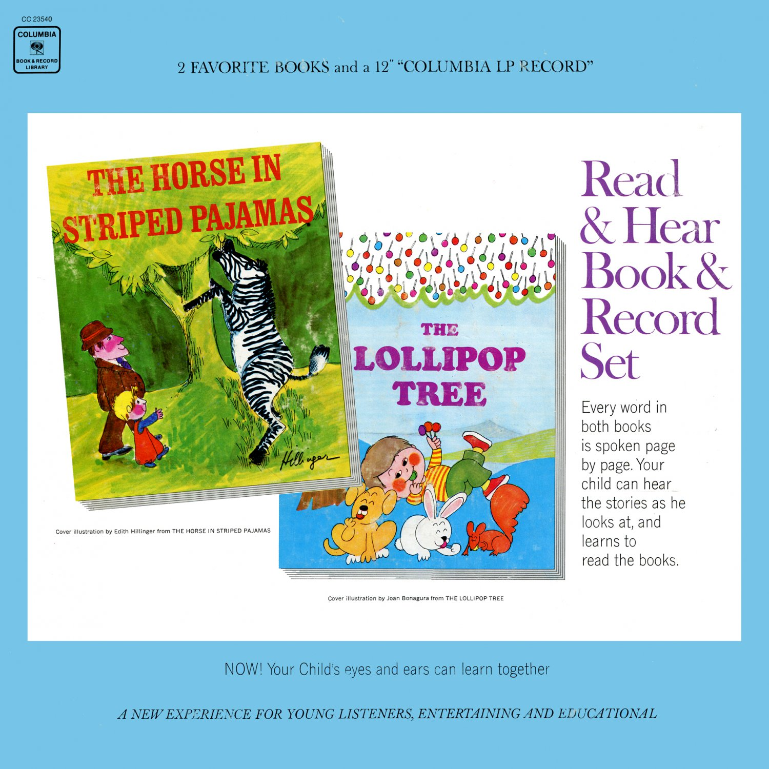 The Horse In Striped Pajamas / Lollipop Tree - Music & Story Collection, Burl Ives LP/CD