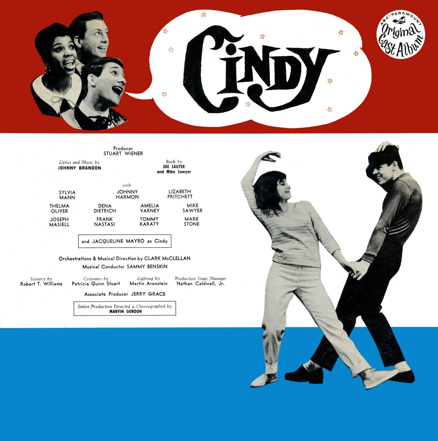 Cindy - Original 1964 Off-Broadway Cast Recording LP/CD