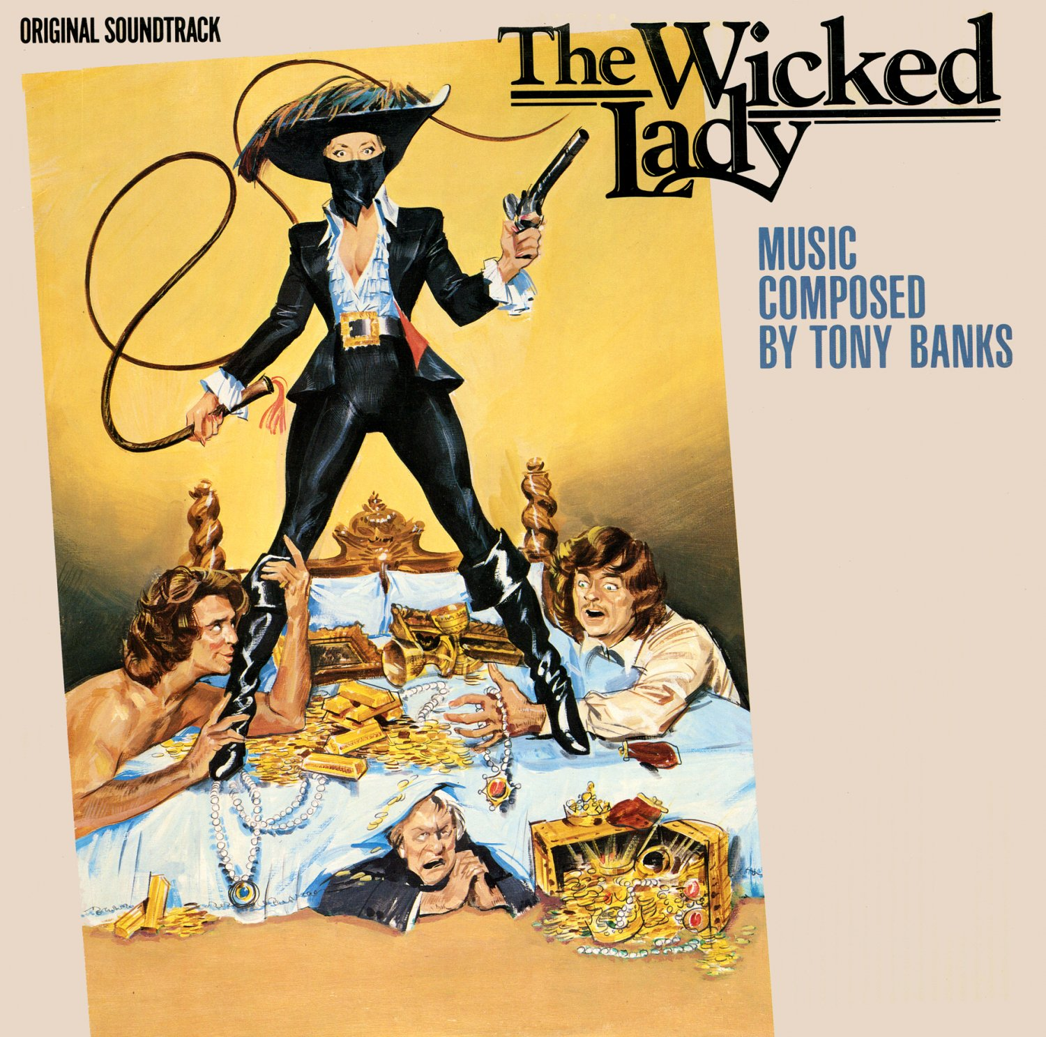 The Wicked Lady - Original Soundtrack, Tony Banks OST LP/CD