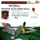 Benjamin Franklin, Great Men Of Science Vol. 3 - Disneyland Storyteller, Julius Sumner Miller LP/CD