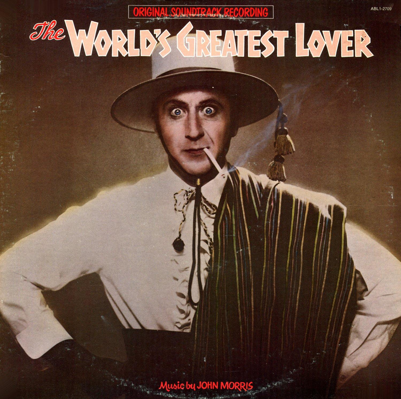 The World's Greatest Lover - Original Soundtrack, John Morris OST LP/CD