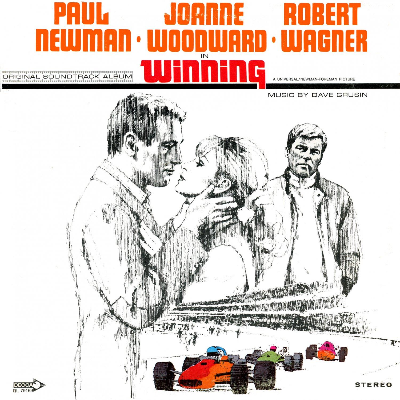 Winning (1969) - Original Soundtrack, Dave Grusin OST LP/CD