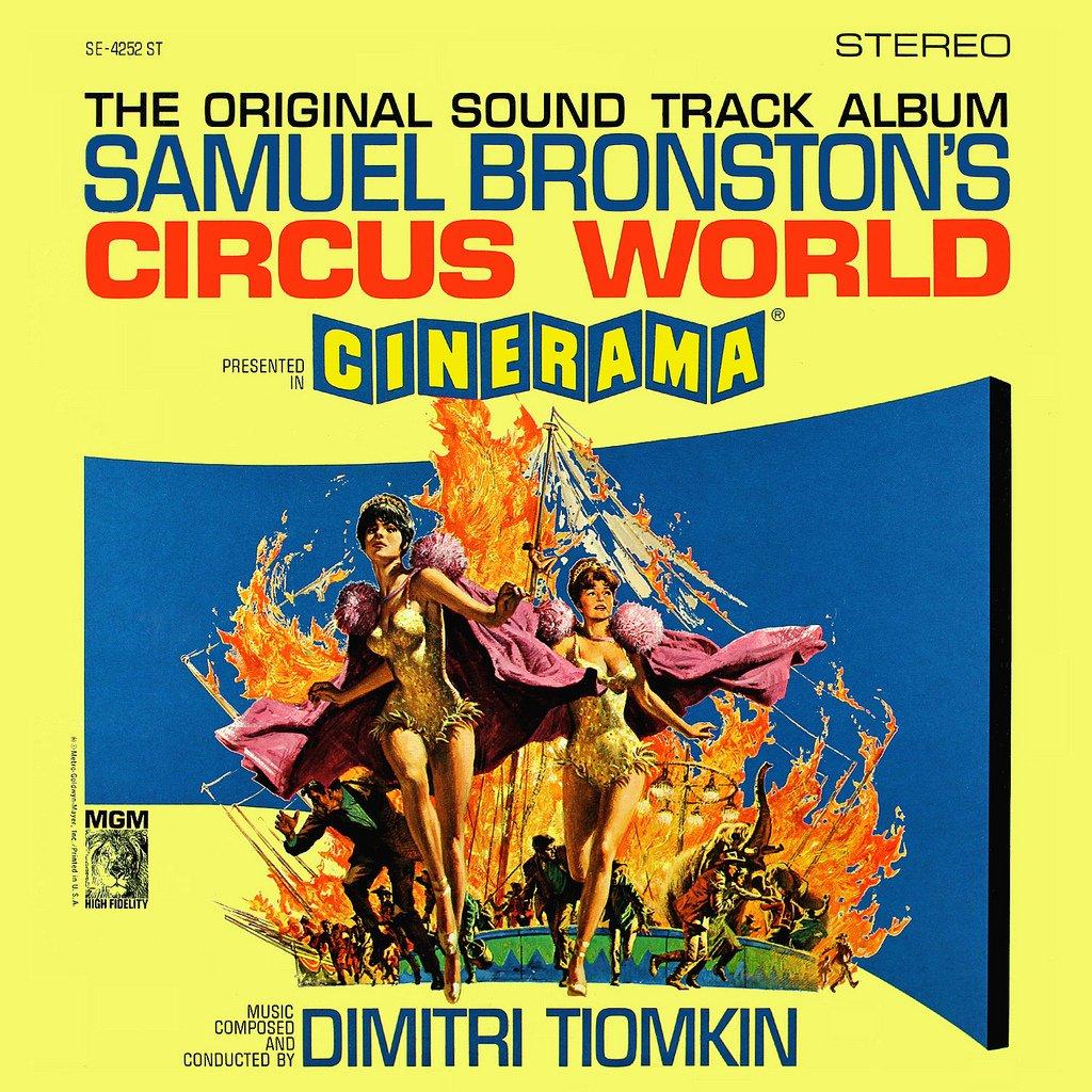 Circus World - Original Soundtrack, Dimitri Tiomkin OST LP/CD