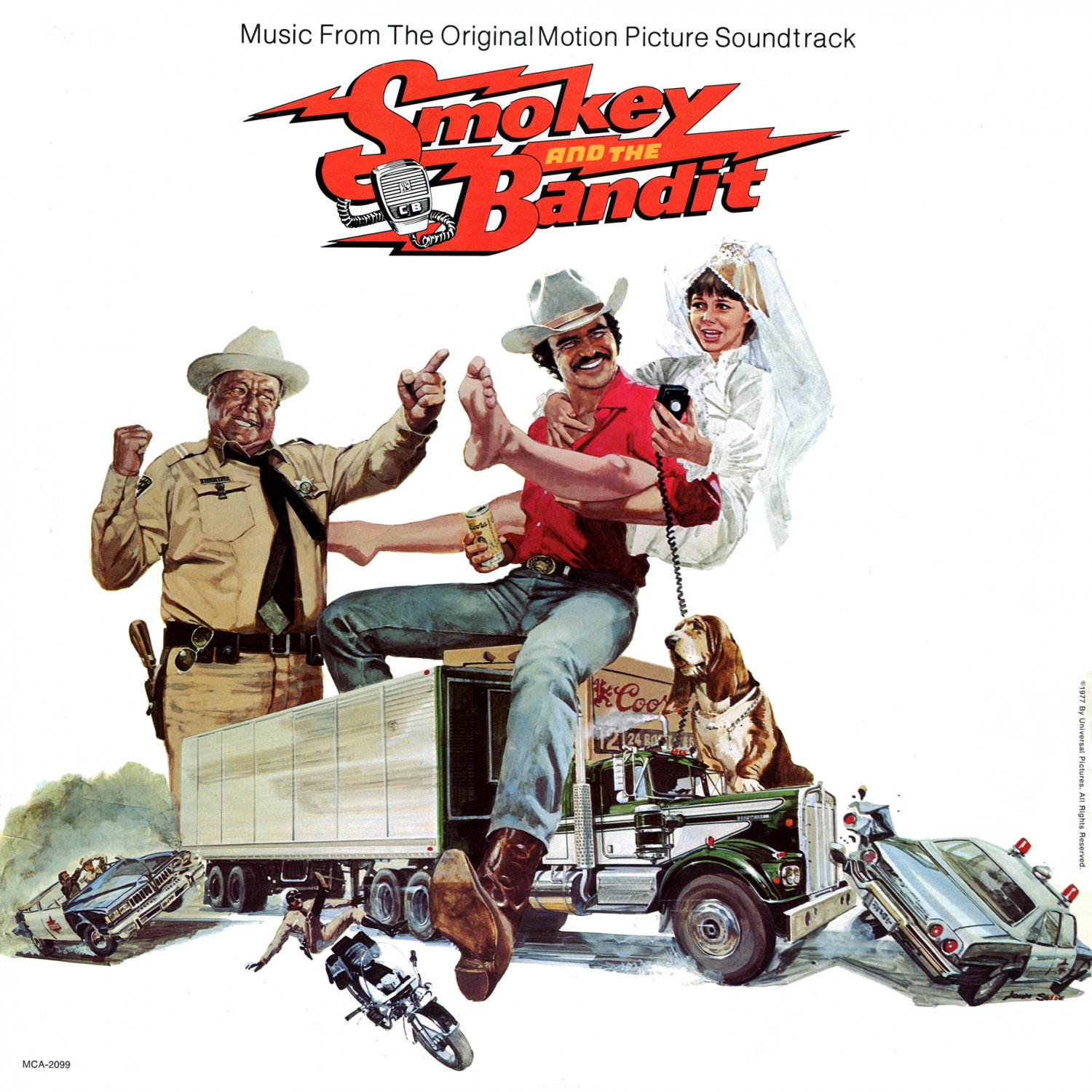 smokey and the bandit   original soundtrack jerry reed