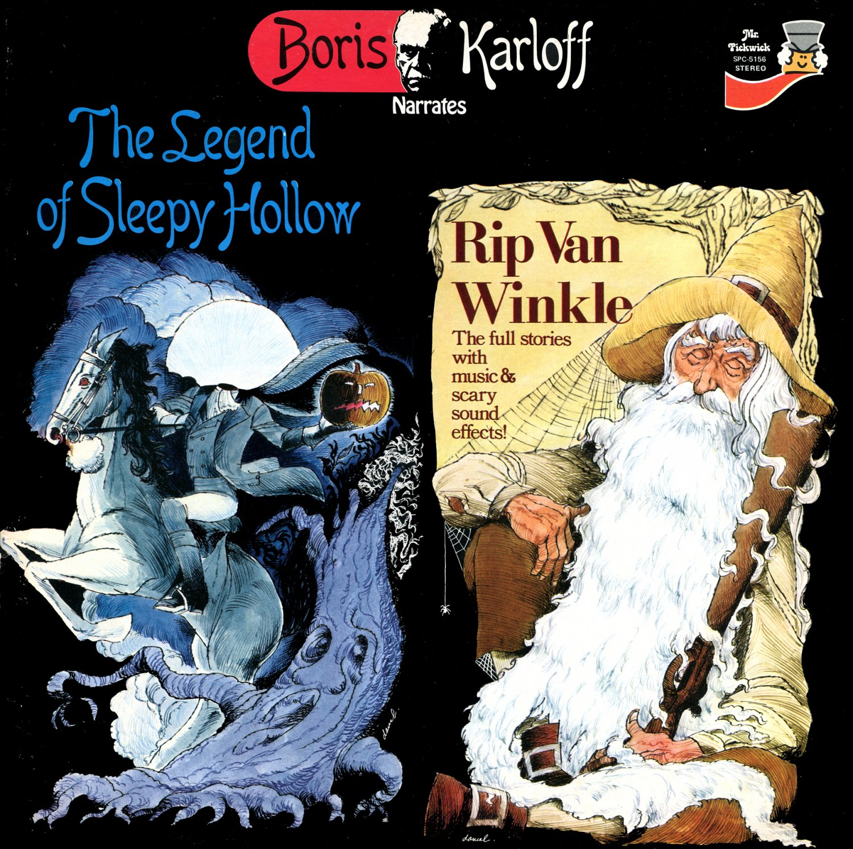 The Legend Of Sleepy Hollow / Rip Van Winkle - Boris Karloff Narrates LP/CD