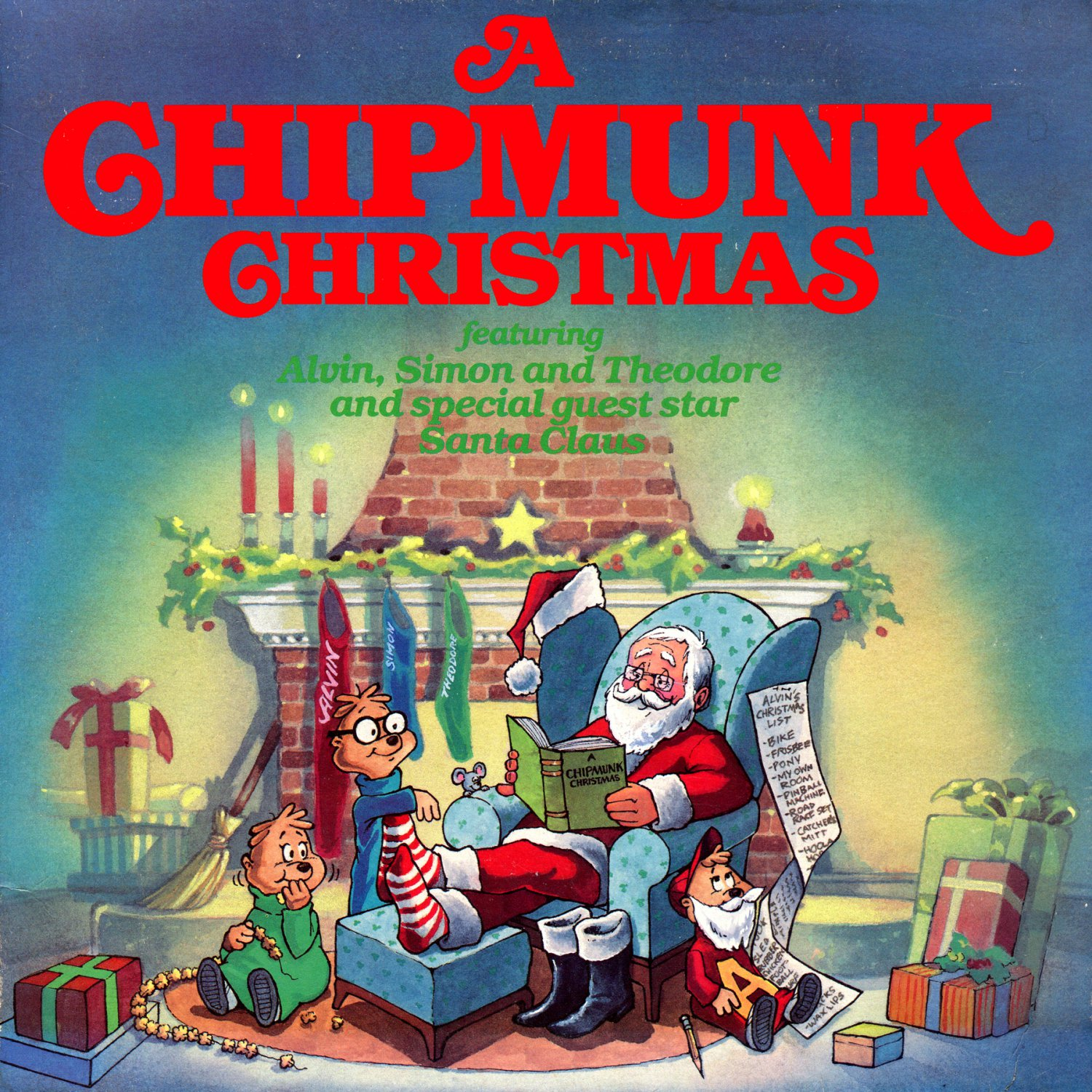 A Chipmunk Christmas (1981) - Alvin & The Chipmunks, Holiday Music Collection LP/CD