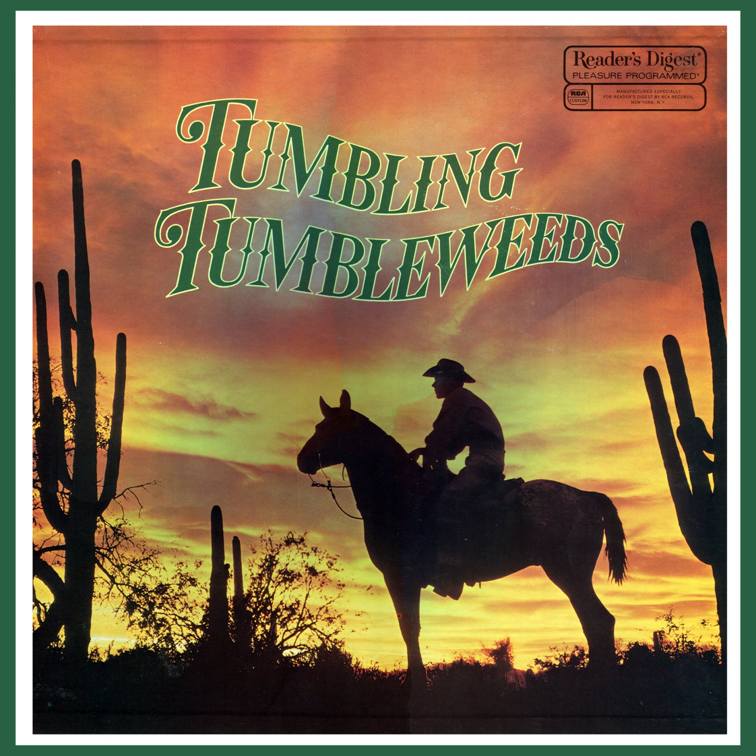 Tumbling Tumbleweeds - Reader's Digest Western Music Collection (Box Set) LP/CD
