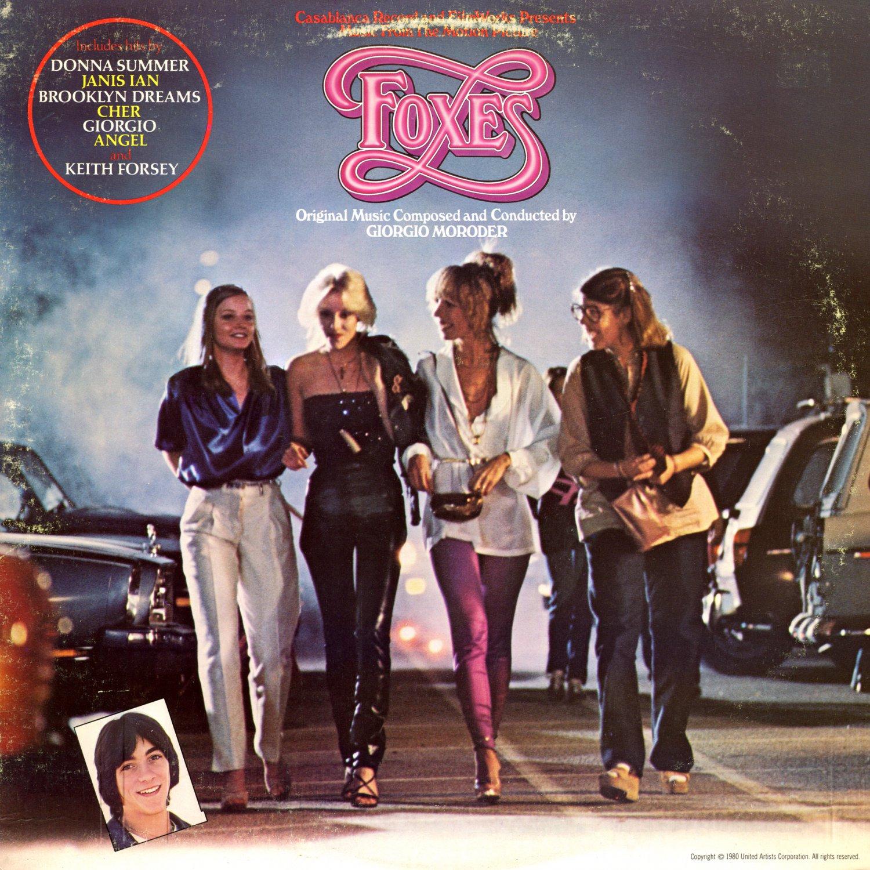 Foxes (1980) - Original Soundtrack, Giorgio Moroder OST LP/CD