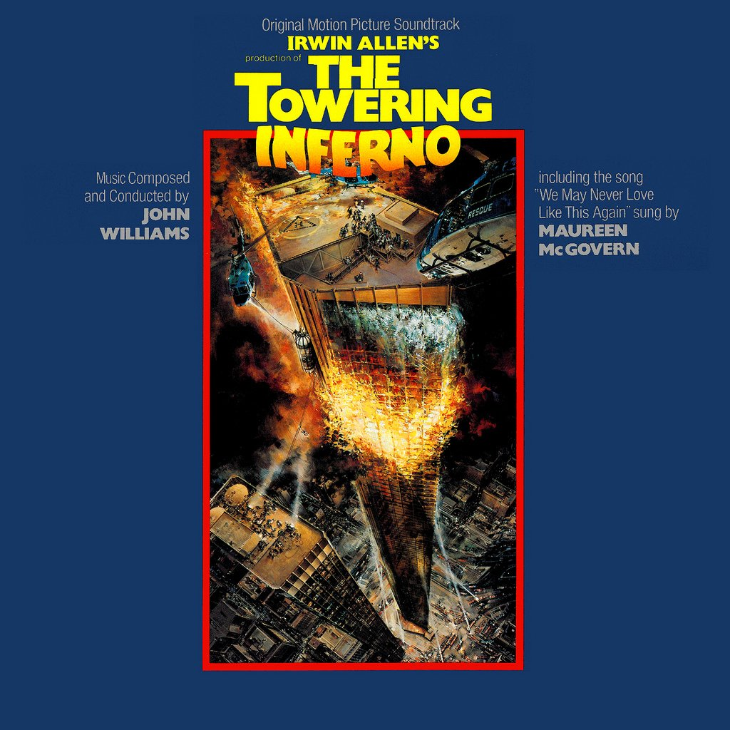 The Towering Inferno - Original Soundtrack, John Williams OST LP/CD