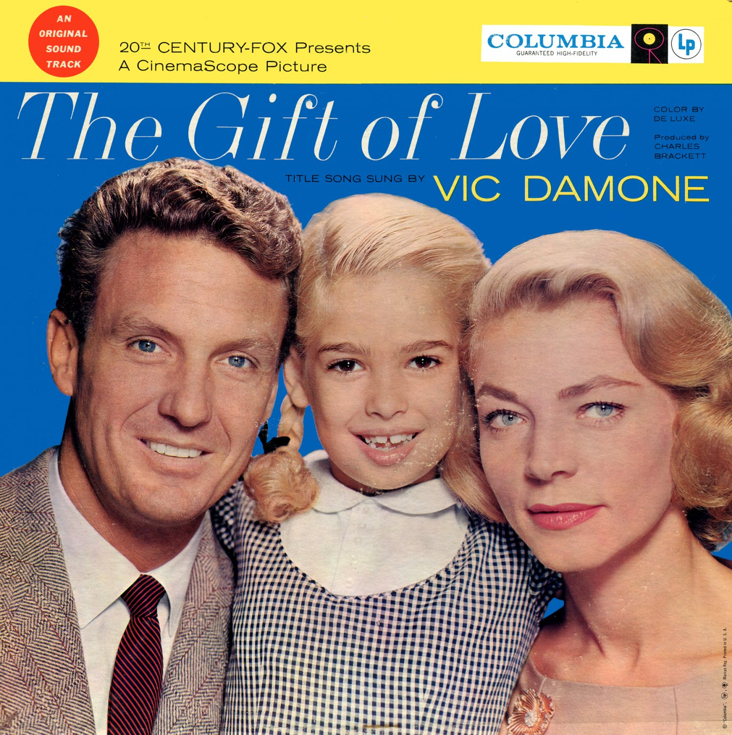 The Gift Of Love (1958) - Original Soundtrack, Alfred Newman OST LP/CD