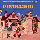 Walt Disney's Pinocchio - Story & Songs Soundtrack, Jiminy Cricket LP/CD