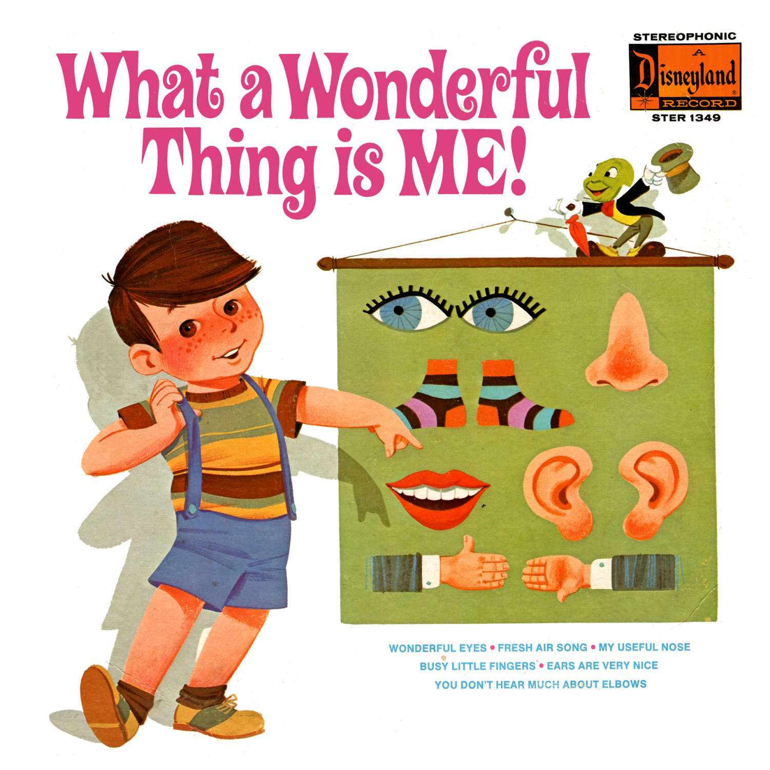 What A Wonderful Thing Is Me! - Disneyland Music Collection, Jerry Whitman LP/CD