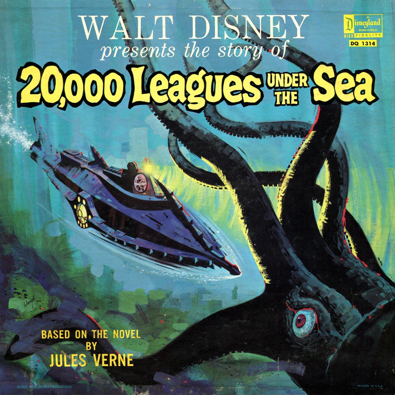 20,000 Leagues Under The Sea - Walt Disney Story Soundtrack LP/CD