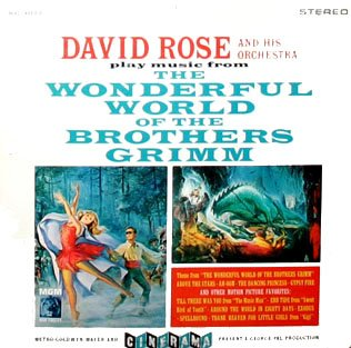 The Wonderful World Of The Brothers Grimm - Cinerama Soundtrack, David Rose LP/CD