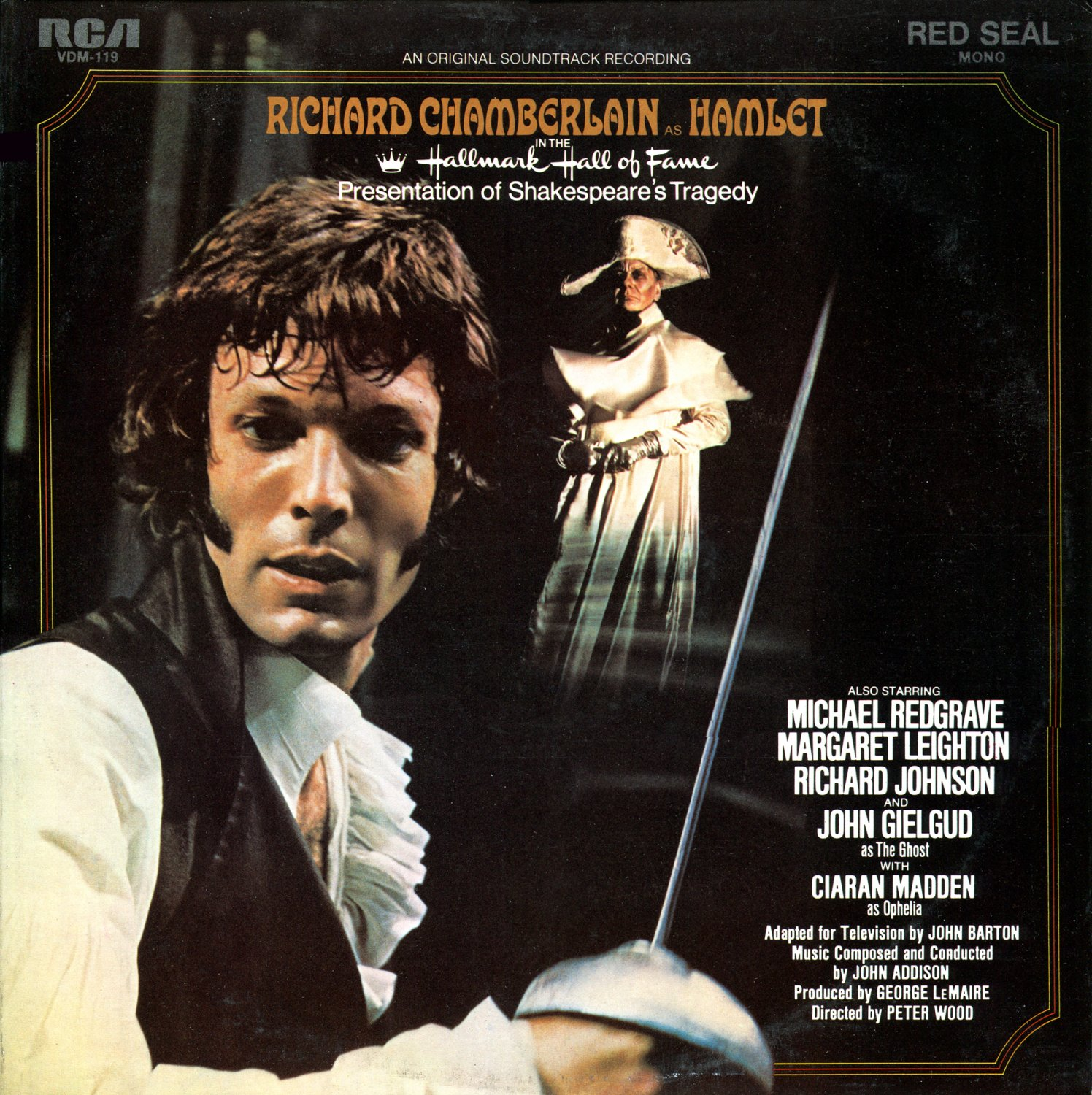Hamlet (1970) - Hallmark Hall Of Fame Original Soundtrack, John Addison OST LP/CD
