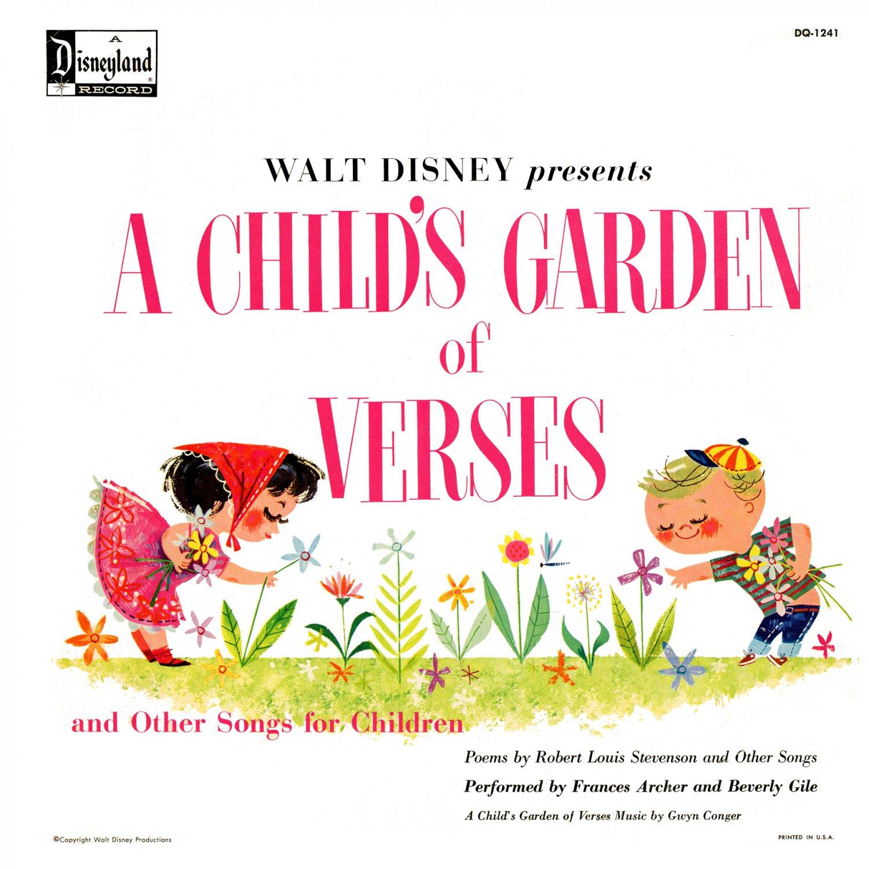 A Child's Garden Of Verses & Other Songs For Children - Walt Disney Soundtrack LP/CD