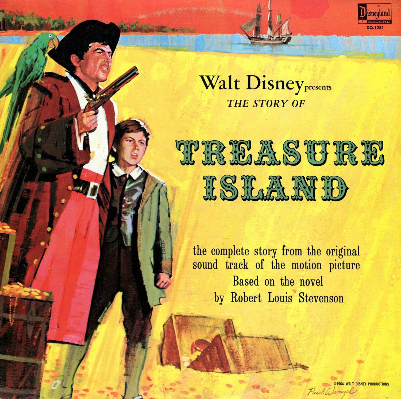 Treasure Island - Walt Disney Story Soundtrack, Dal McKennon LP/CD