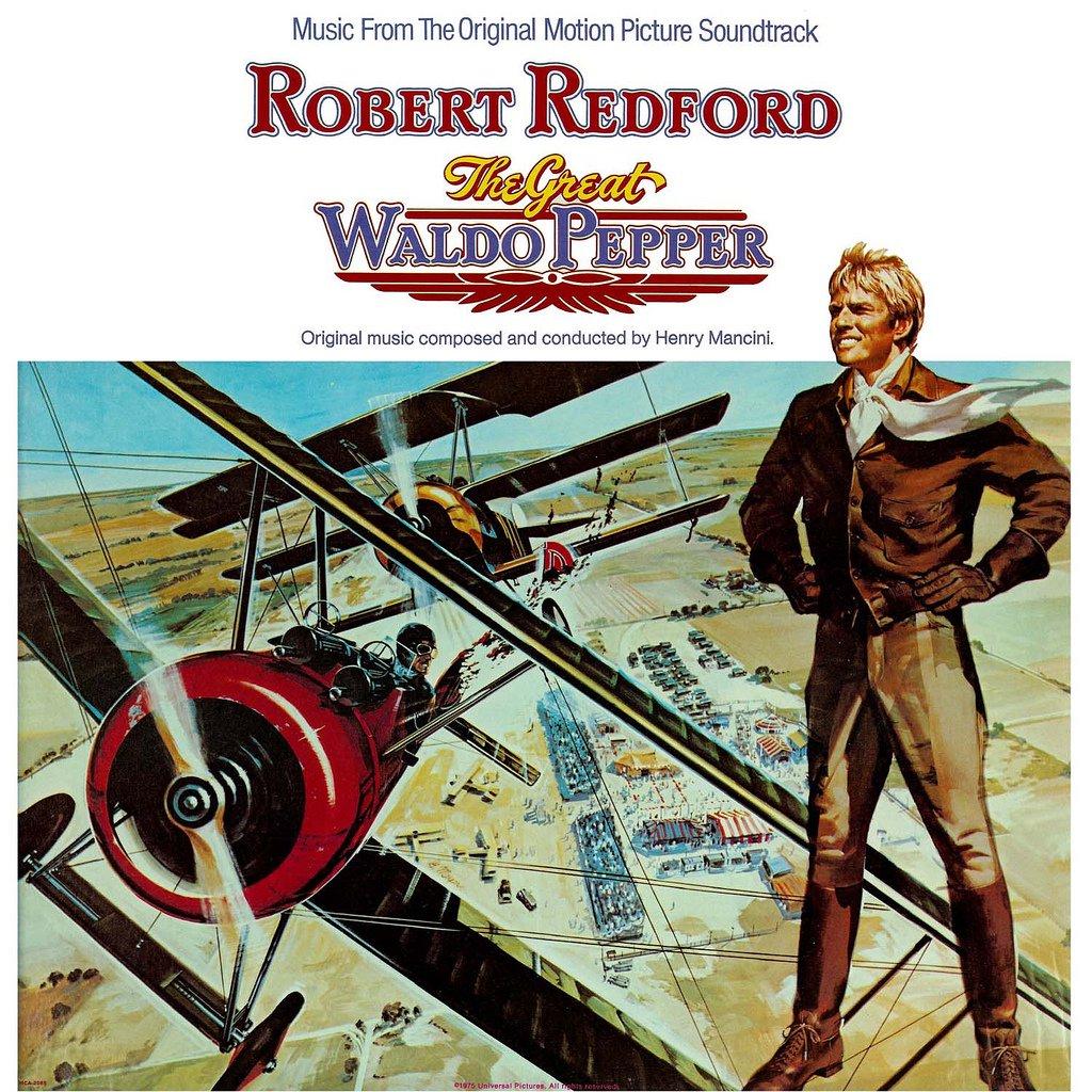 The Great Waldo Pepper - Original Soundtrack, Henry Mancini OST LP/CD
