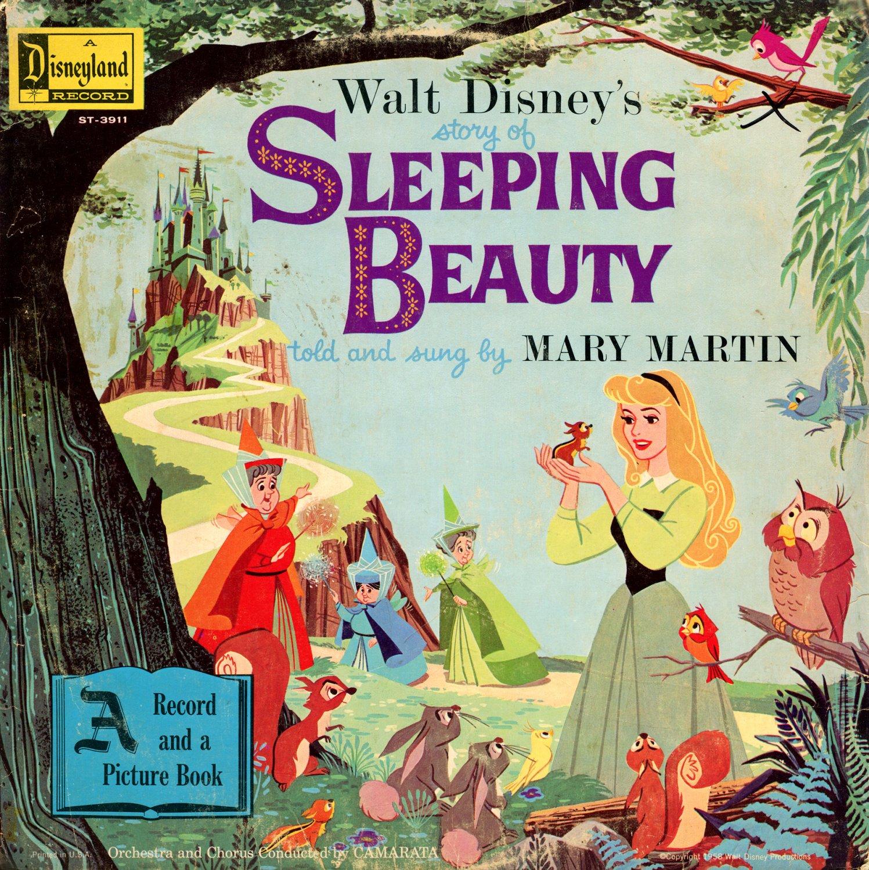 Sleeping Beauty - Walt Disney Story Soundtrack, Mary Martin LP/CD