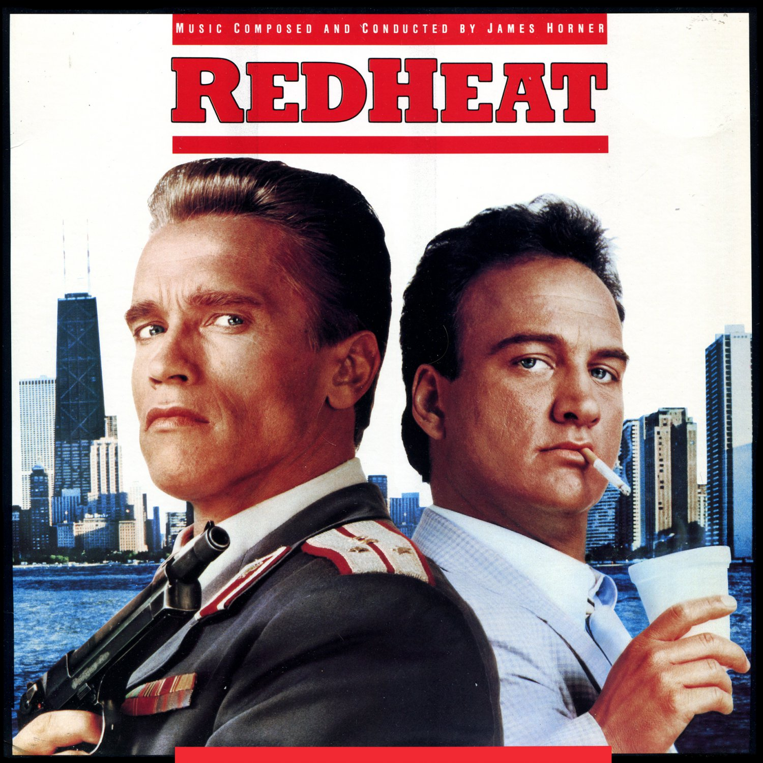 Red Heat Original Soundtrack James Horner Ost Lp Cd