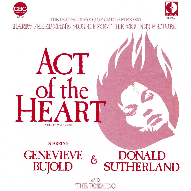 Act Of The Heart (1970) - Original Soundtrack, Harry Freedman OST LP/CD