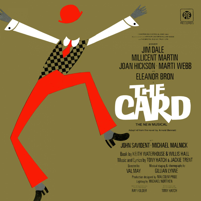 The Card (1973 Musical) - Original Cast Recording Soundtrack, Jim Dale LP/CD