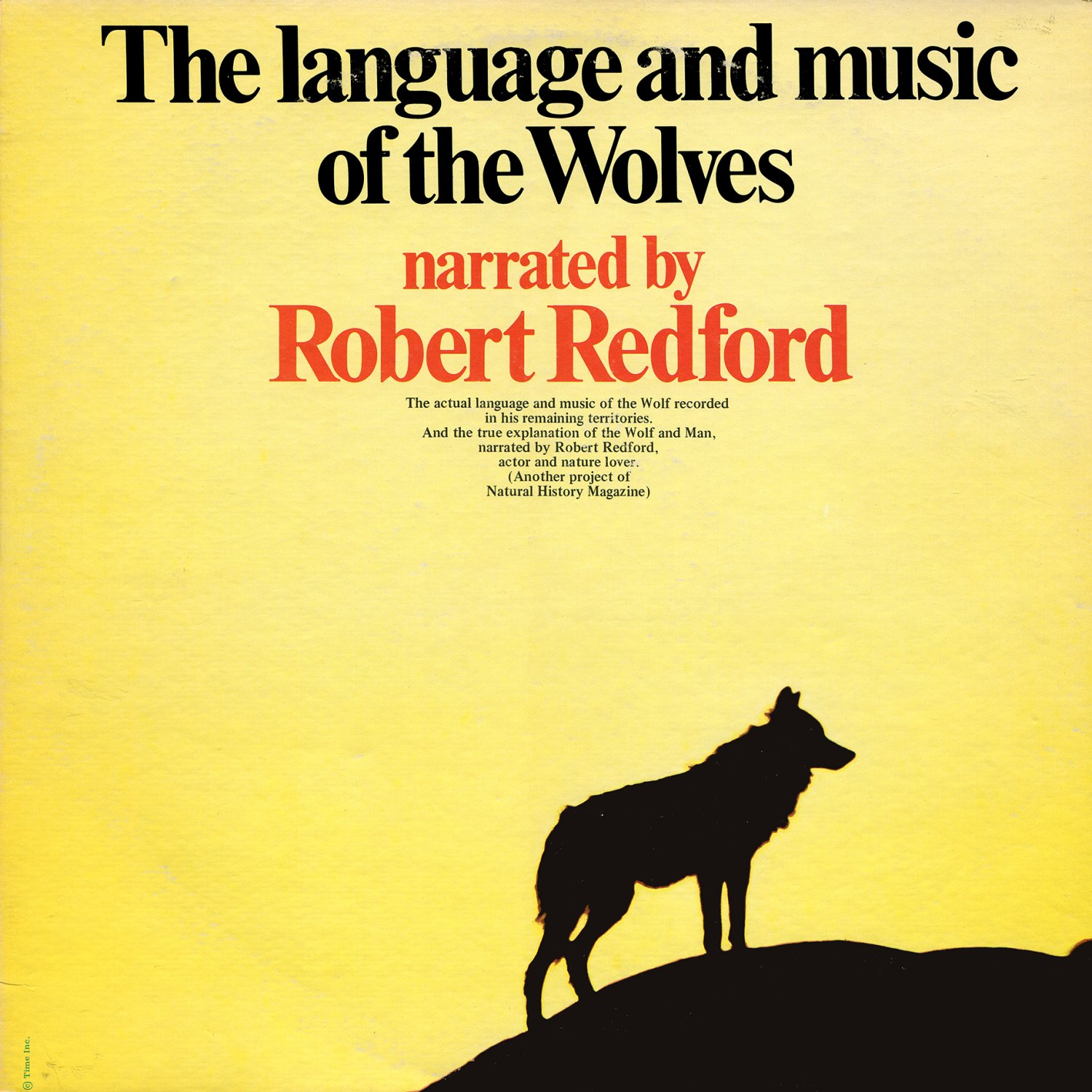The Language And Music Of The Wolves (1971), Robert Redford LP/CD