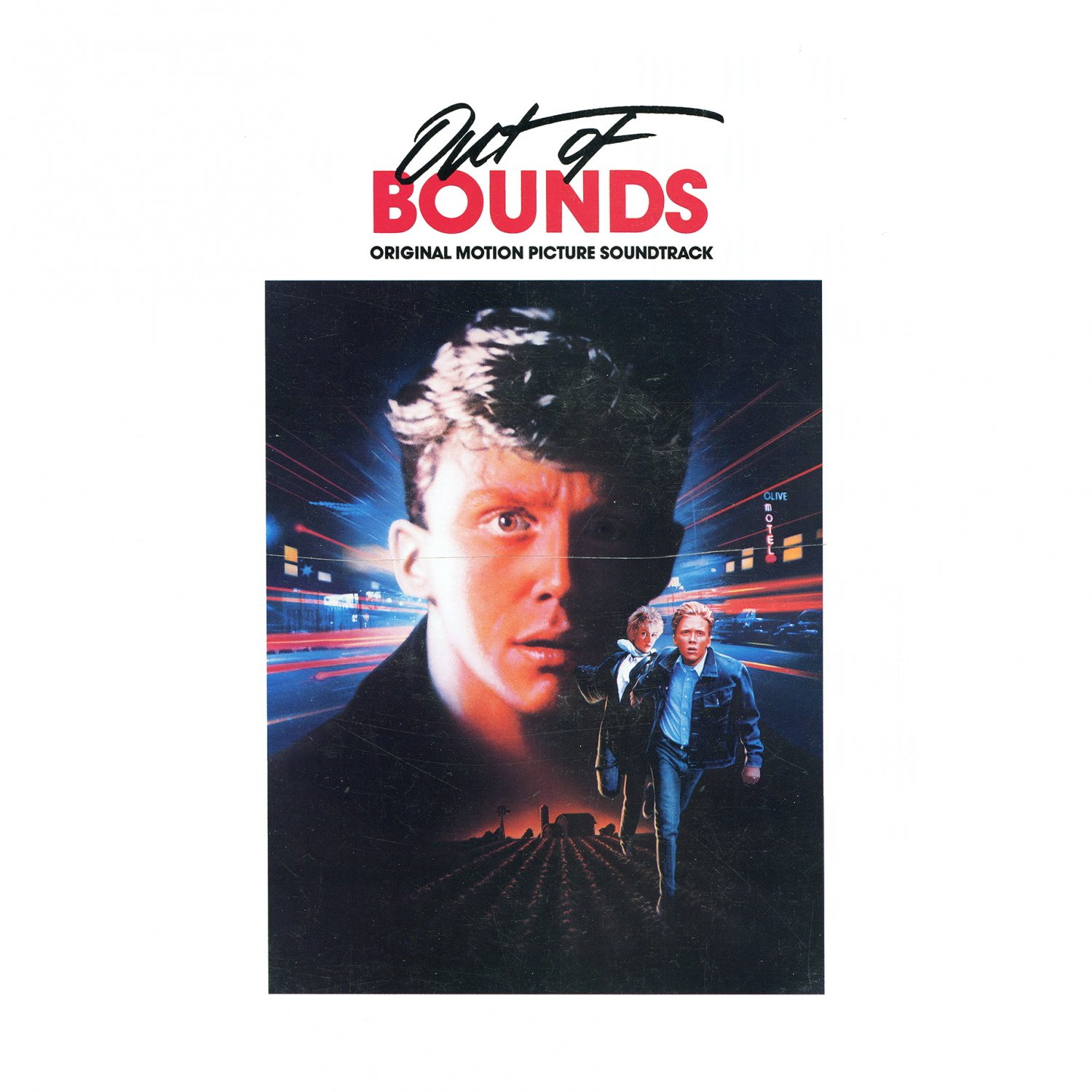 Out Of Bounds - Original Soundtrack, Stewart Copeland OST LP/CD