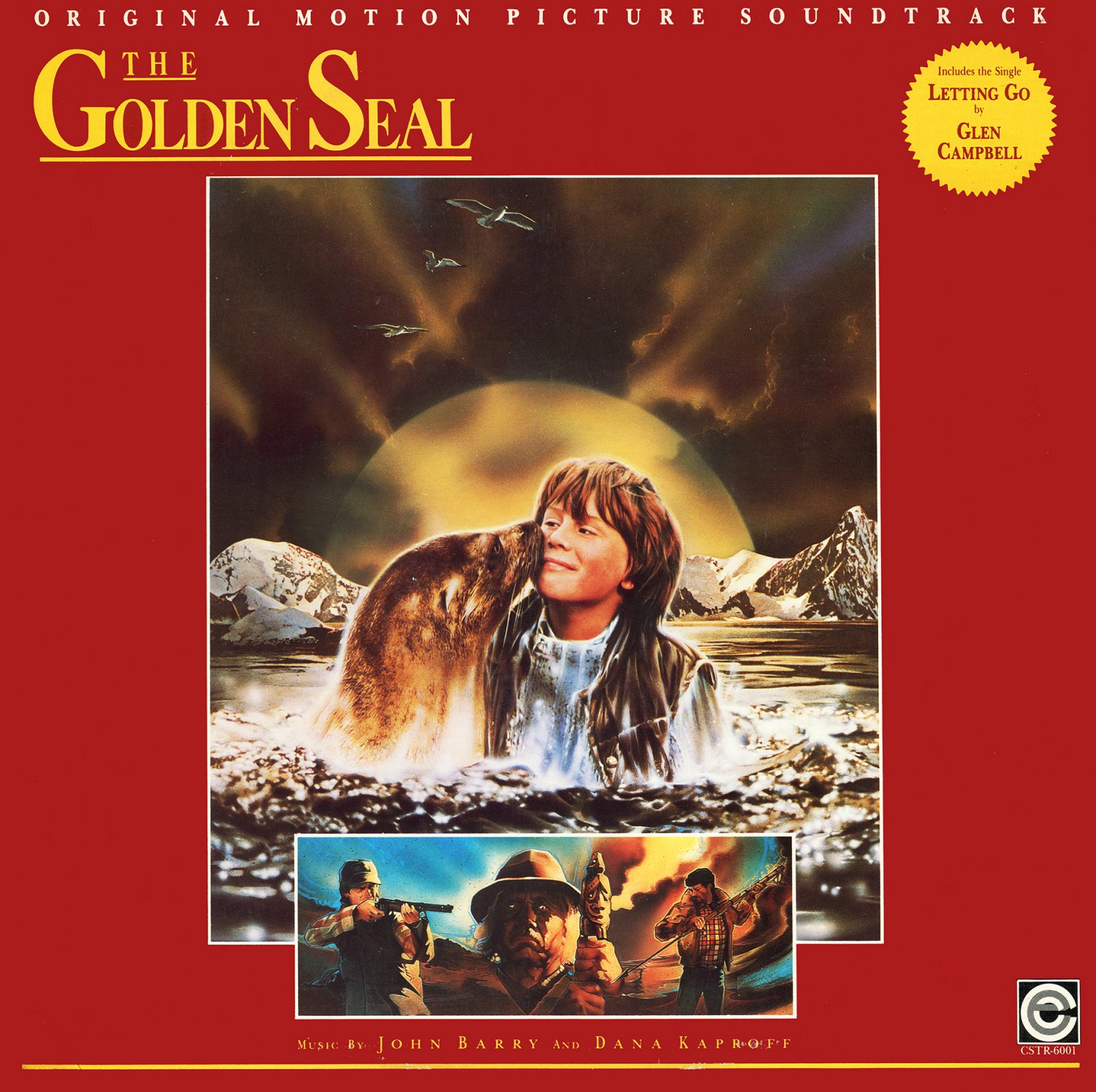 The Golden Seal - Original Soundtrack, John Barry OST LP/CD