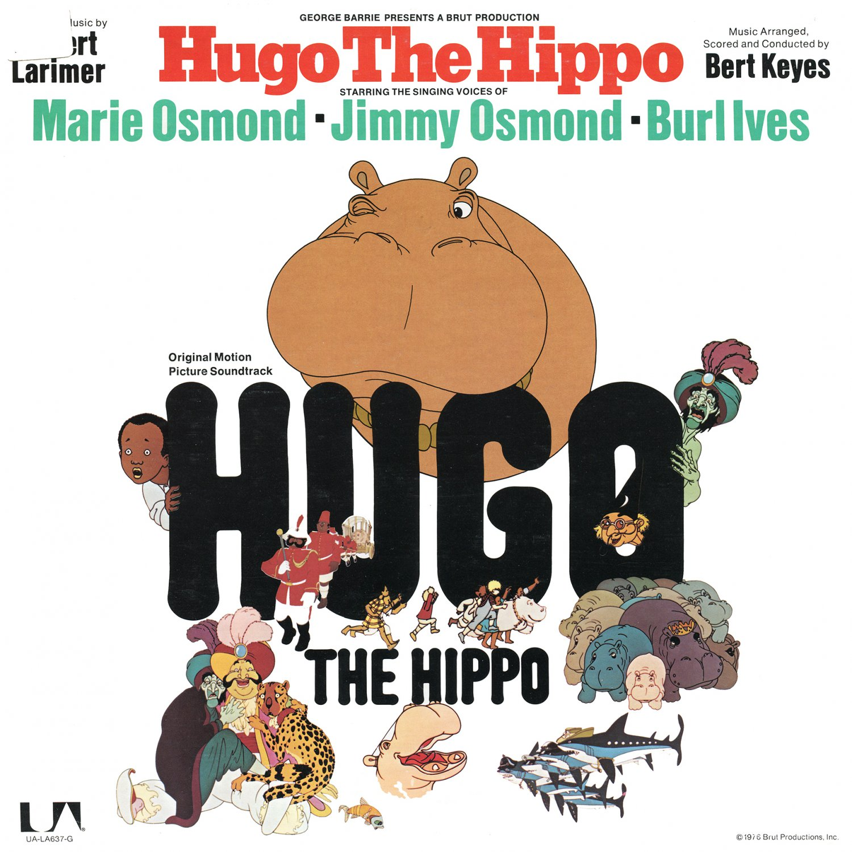 Hugo The Hippo - Original Musical Soundtrack, Marie Osmond & Burl Ives OST LP/CD