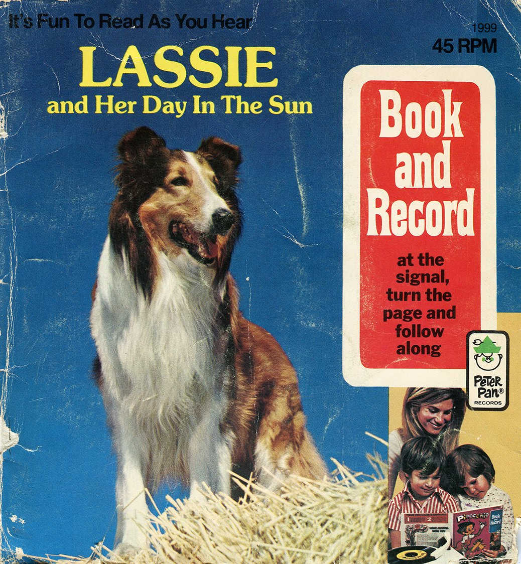 Lassie And Her Day In The Sun - Peter Pan Book & Record EP/CD