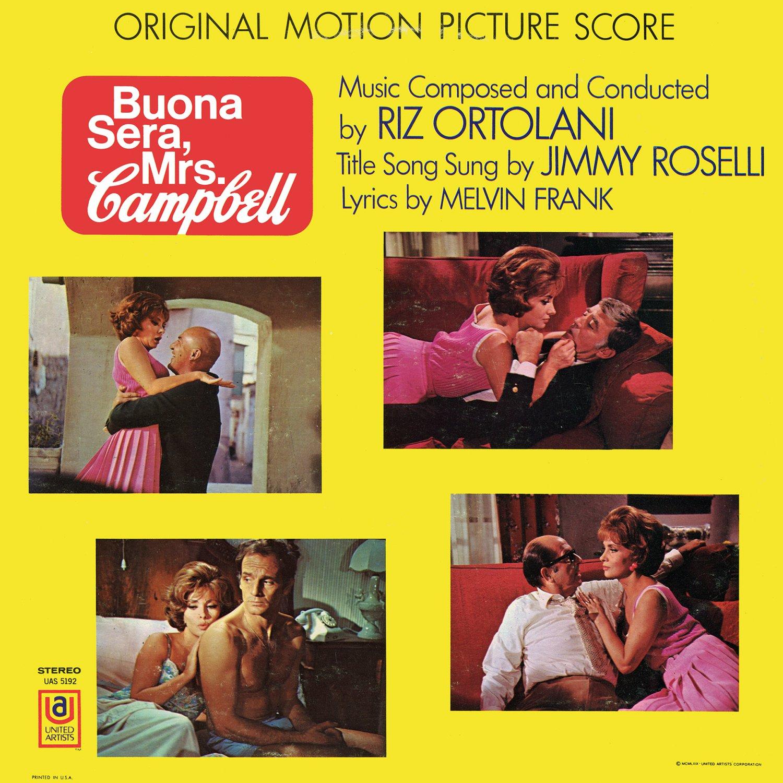 Buona Sera, Mrs. Campbell - Original Soundtrack, Riz Ortolani OST LP/CD