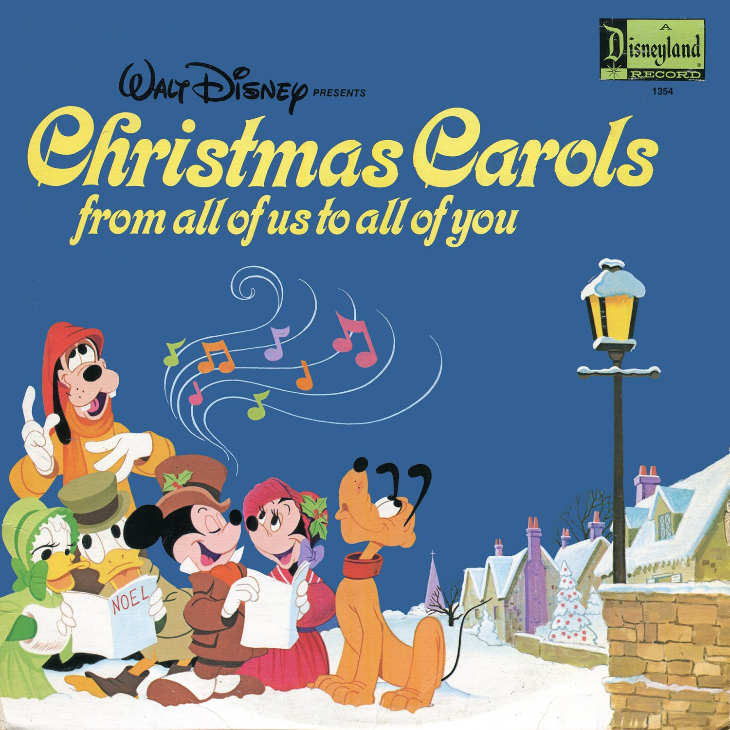 Christmas Carols From All Of Us To All Of You - Disney Holiday Music Collection LP/CD