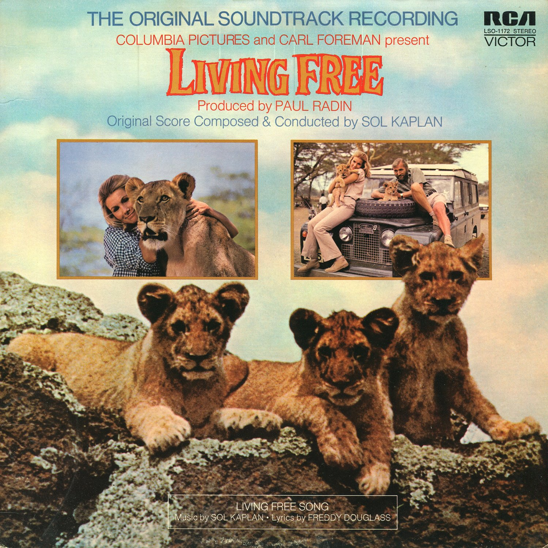 Living Free (1972) - Original Soundtrack, Sol Kaplan OST LP/CD