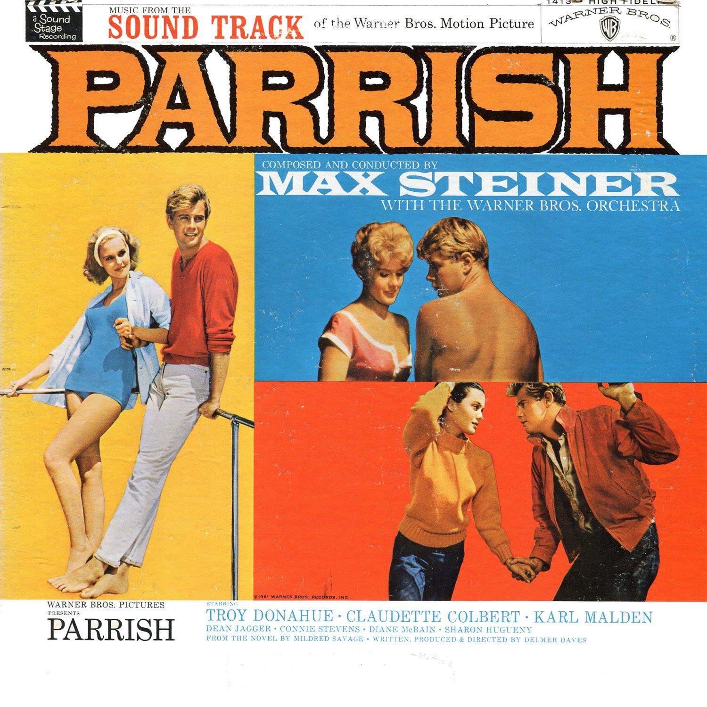Parrish (1961) - Original Soundtrack, Max Steiner OST LP/CD
