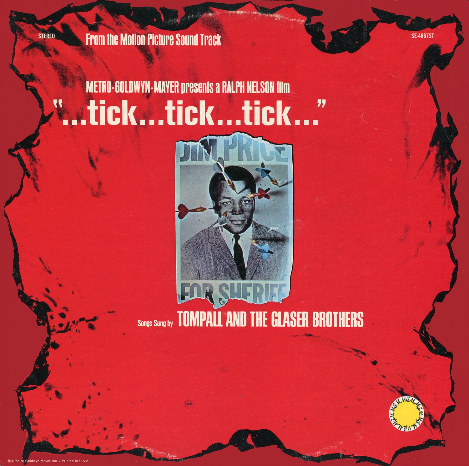 Tick...Tick...Tick - Original Soundtrack, Tompall and the Glaser Brothers OST LP/CD