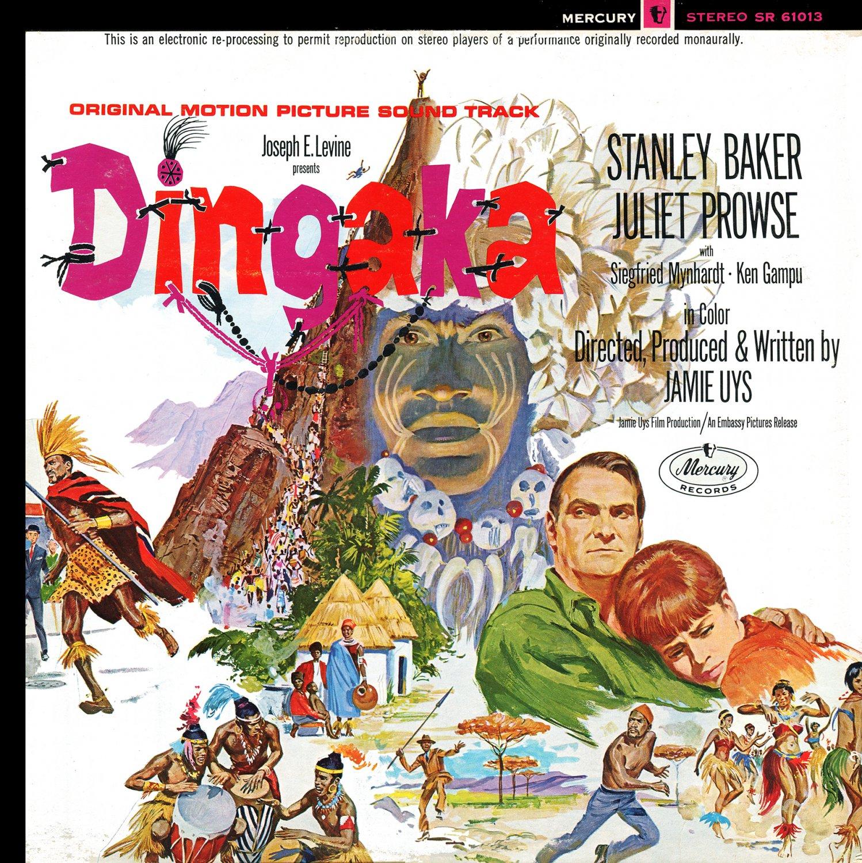 Dingaka (1965) - Original Soundtrack, Bertha Egnos & Eddie Domingo OST LP/CD