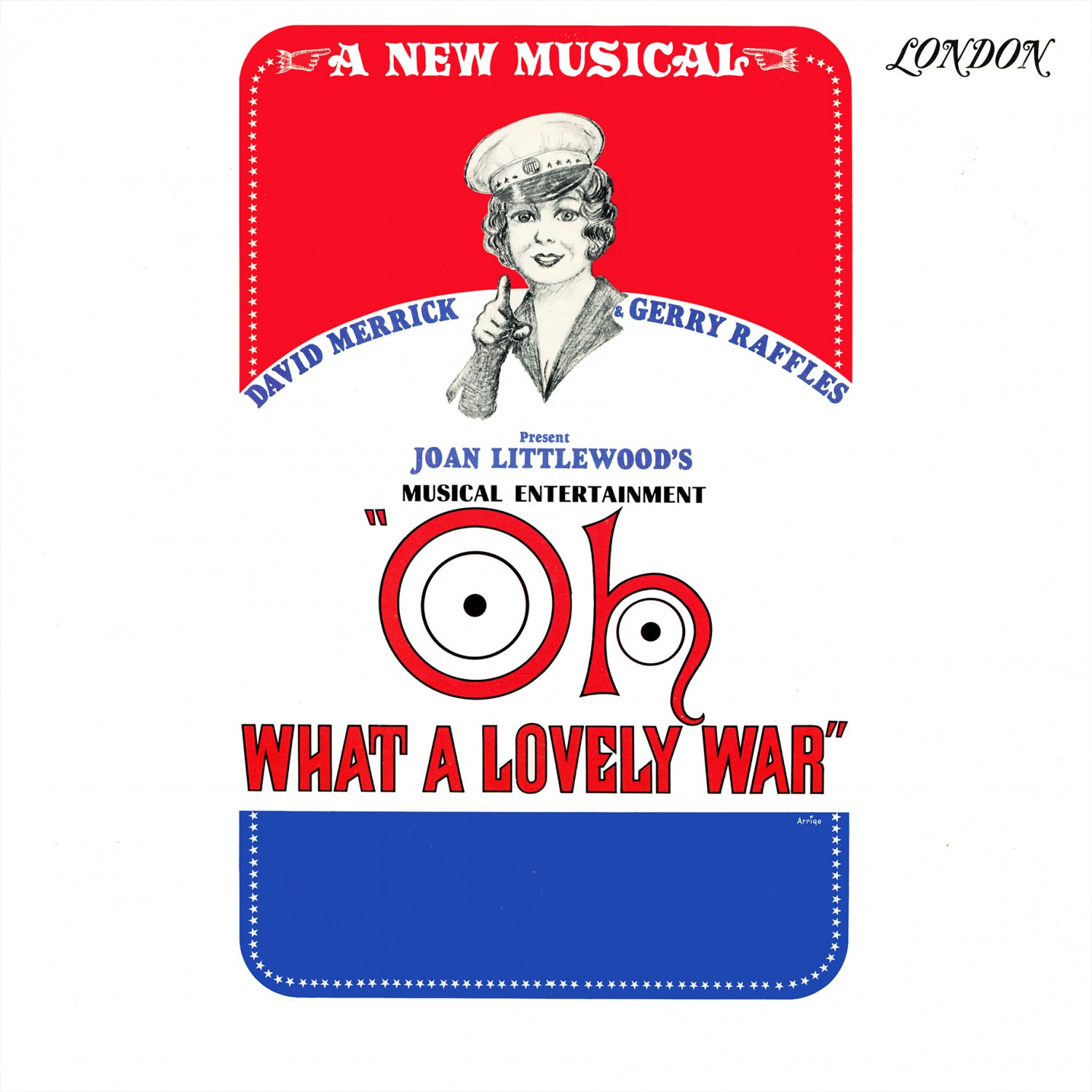 Oh What A Lovely War (A New Musical) - Original Cast Soundtrack, Joan Littlewood LP/CD